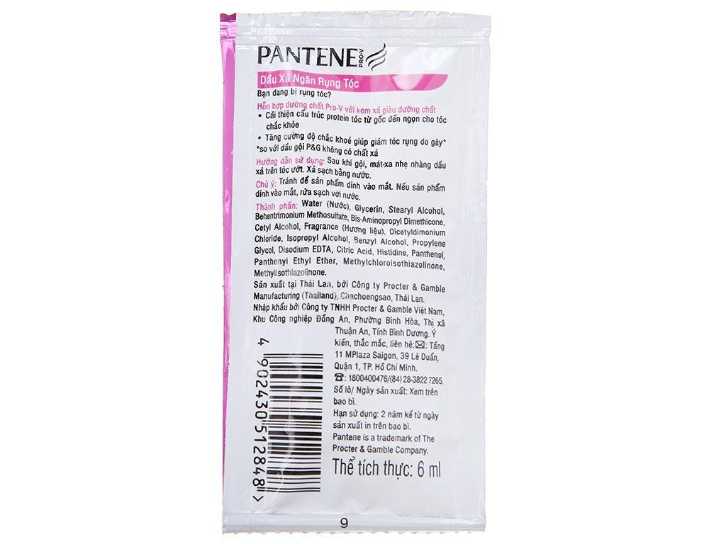 Dầu xả Pantene 3 phút diệu kì dưỡng chất ngăn rụng tóc 6ml x 12 gói 3