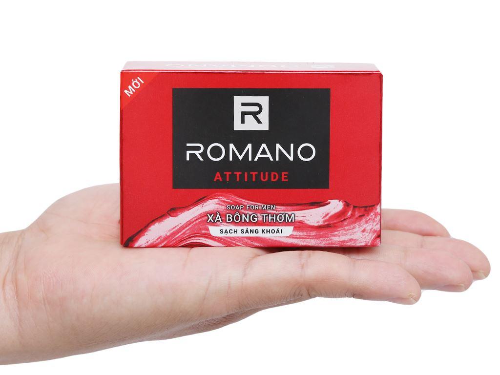 Xà bông thơm Romano Attitude sạch sảng khoái 90g 4