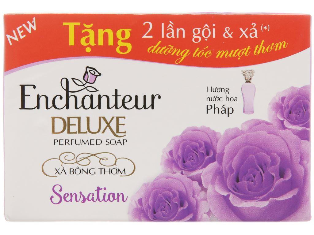 Xà bông thơm Enchanteur Deluxe Sensation 90g 2