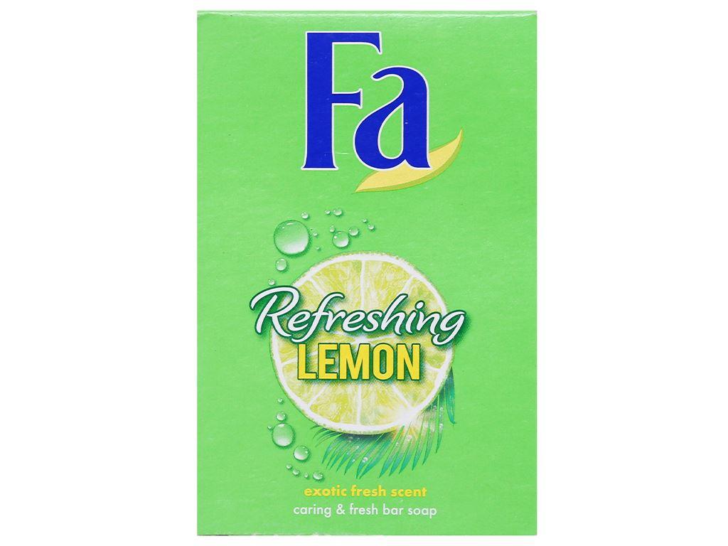 Xà bông cục FA Refreshing Lemon 90g 3