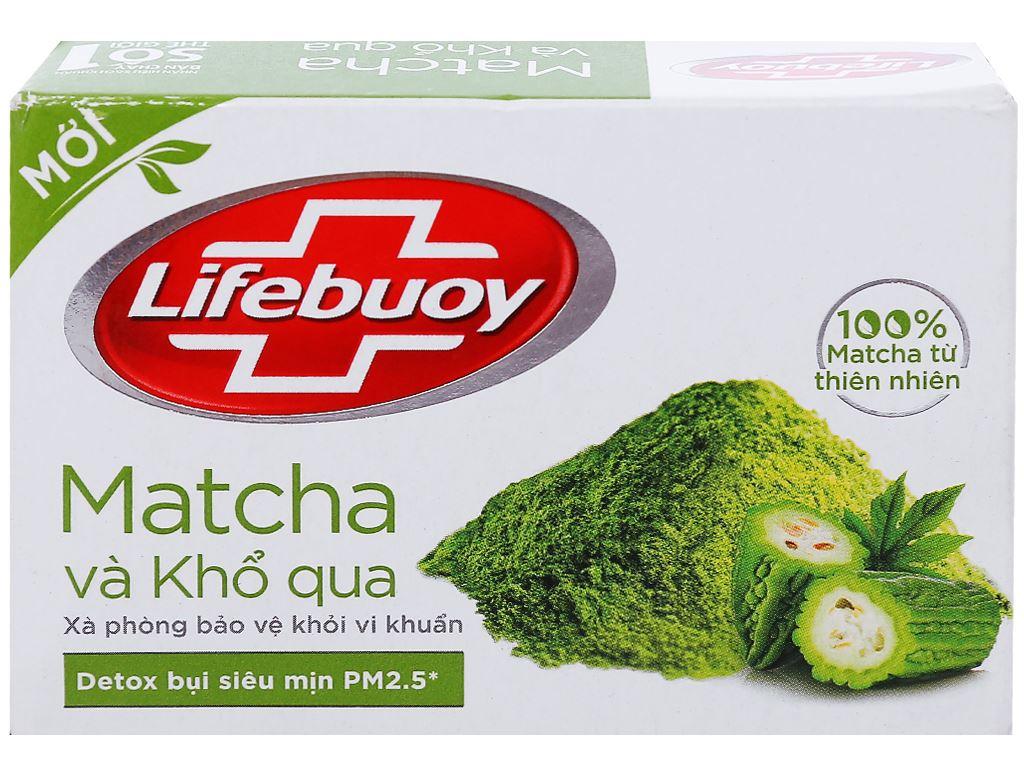 Xà phòng bảo vệ khỏi vi khuẩn Lifebuoy matcha và khổ qua 90g 1