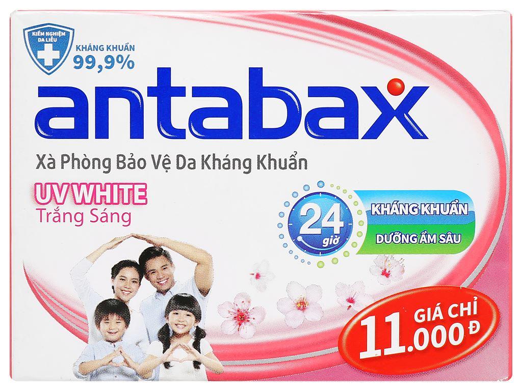 Xà phòng bảo vệ da kháng khuẩn Antabax UV White trắng sáng 85g 1