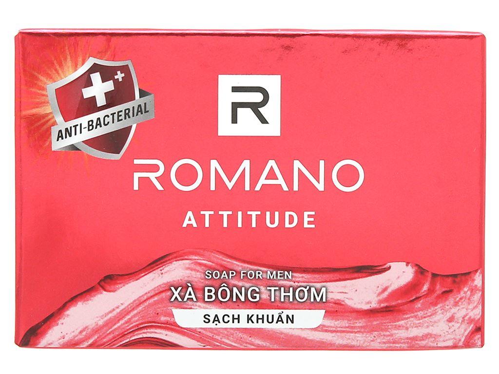 Xà bông sạch khuẩn Romano Attitude 90g 1