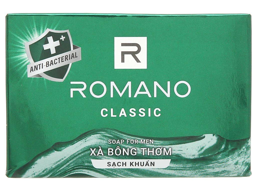 Xà bông sạch khuẩn Romano Classic 90g 1
