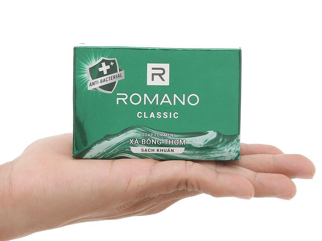 Xà bông sạch khuẩn Romano Classic 90g 5