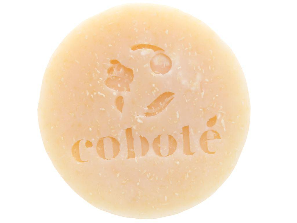 Xà bông cục Coboté tẩy da chết hương dừa 75g 5