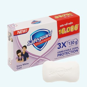 3 xà bông cục Safeguard chăm sóc dịu nhẹ 130g/cục