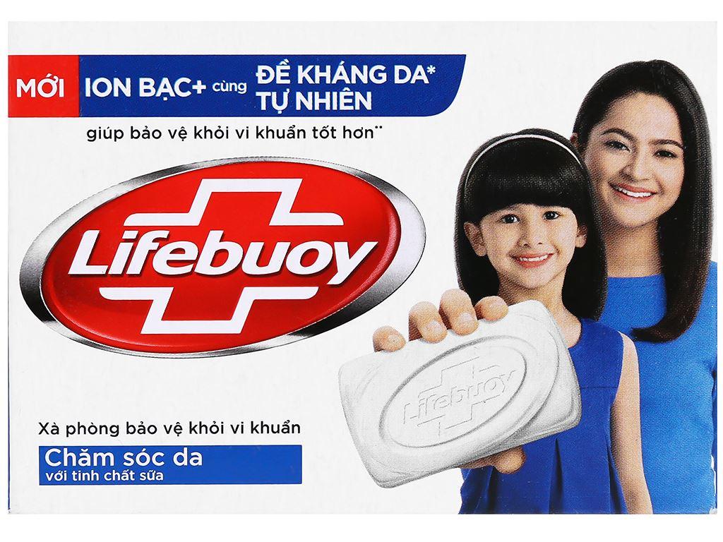 Xà phòng bảo vệ khỏi vi khuẩn Lifebuoy chăm sóc da 90g 6