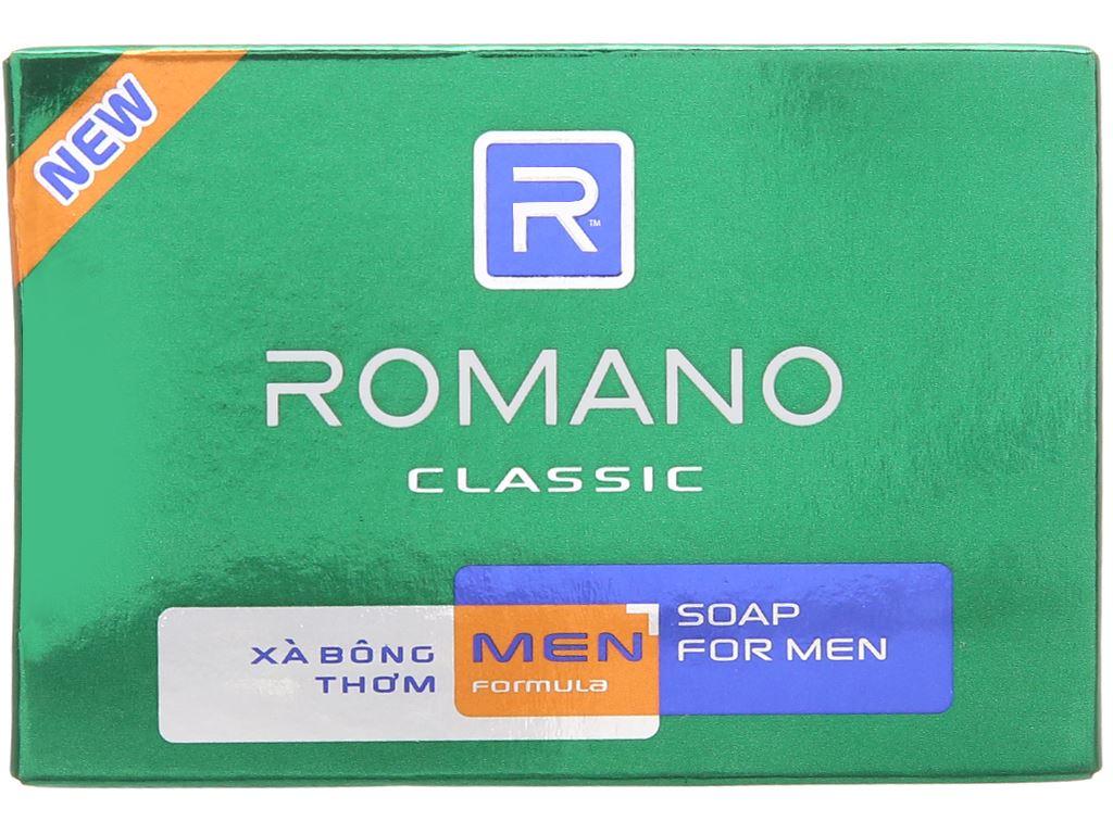 Xà bông thơm Romano Classic 90g 2