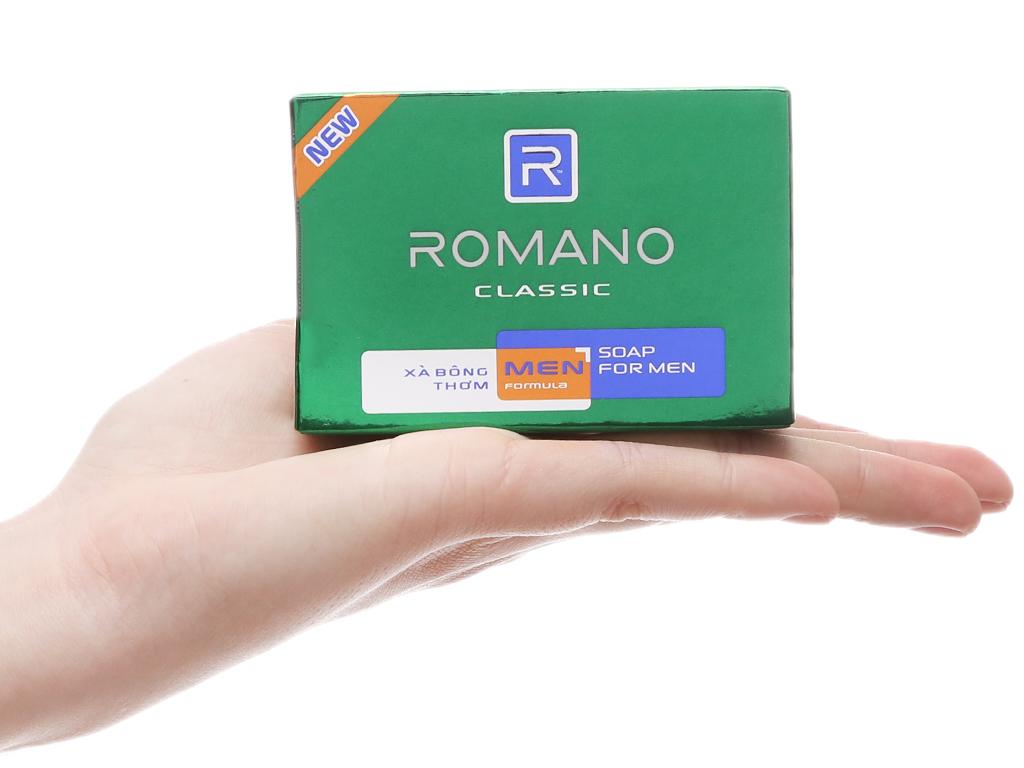 Xà bông thơm Romano Classic 90g 5