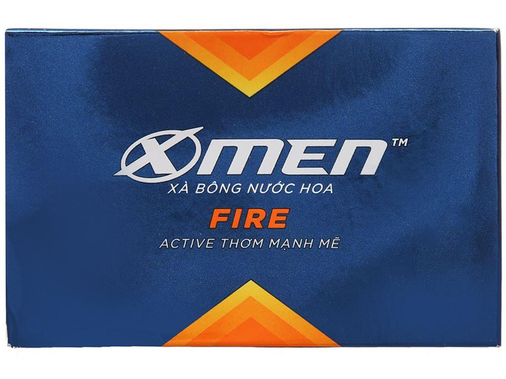 Xà bông nước hoa X-Men Fire Active thơm mạnh mẽ 90g 2