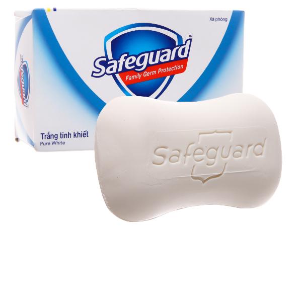 Xà bông cục Safeguard diệt khuẩn trắng tinh khiết 135g