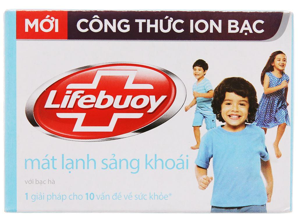 Xà bông cục Lifebuoy mát lạnh sảng khoái 90g 2