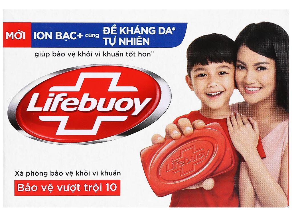 Xà bông cục Lifebuoy bảo vệ vượt trội 90g 6