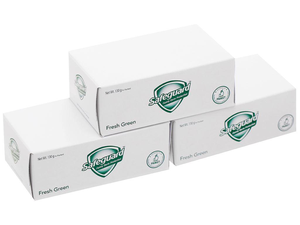 3 cục xà phòng Safeguard thảo mộc thơm mát 130g/cục 2