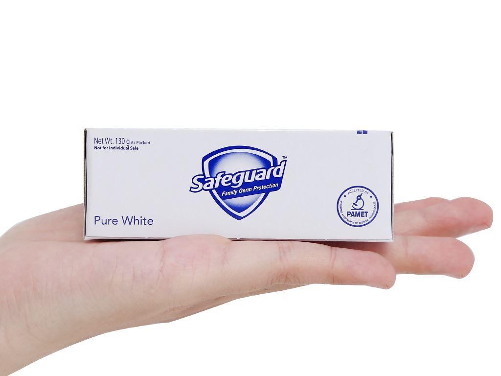 3 cục xà phòng Safeguard Pure White diệt khuẩn 130g/cục 11