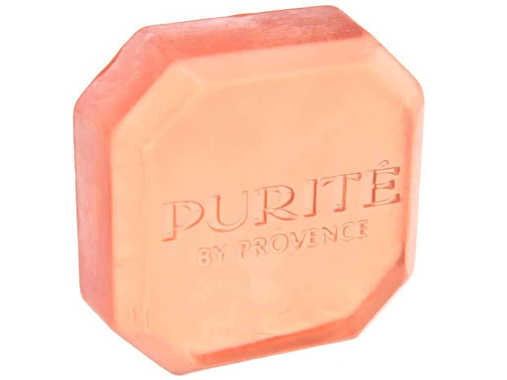 Xà bông cục Purite By Provence rửa mặt hoa anh đào 75g 4