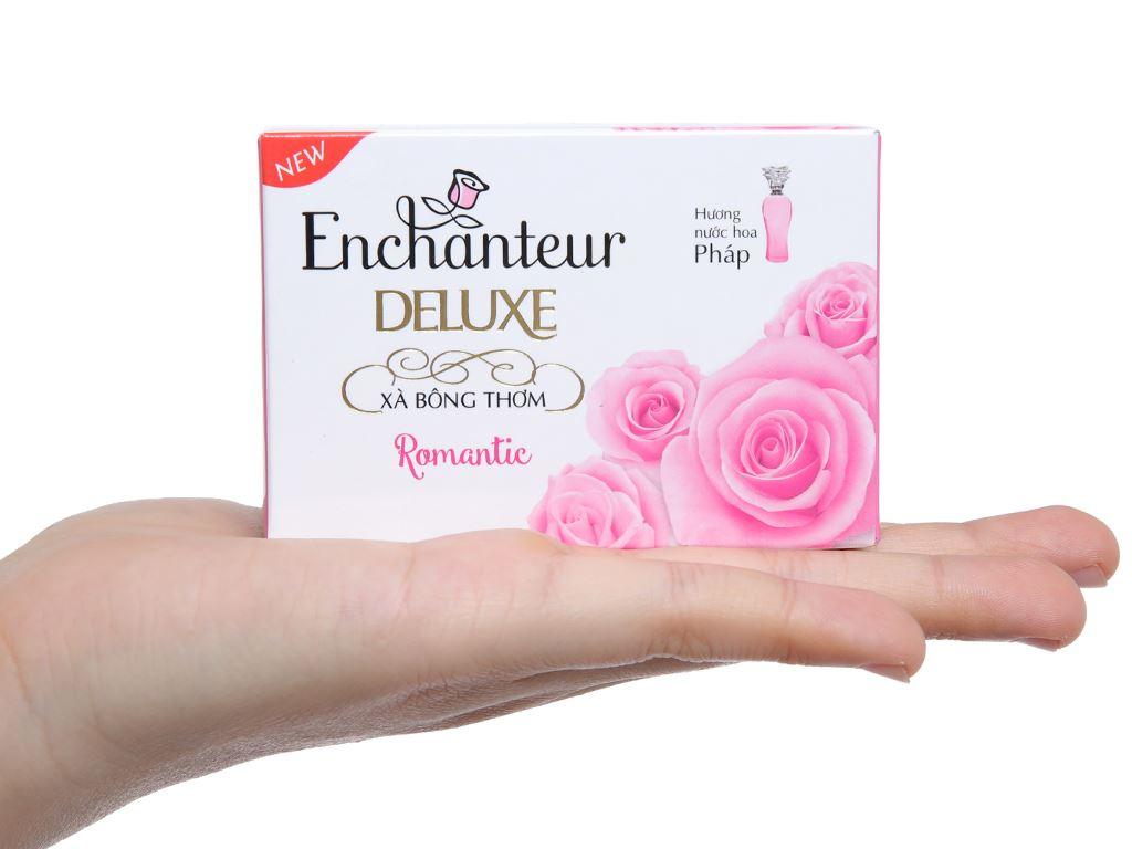 Xà bông thơm Enchanteur Deluxe Romantic 90g 5
