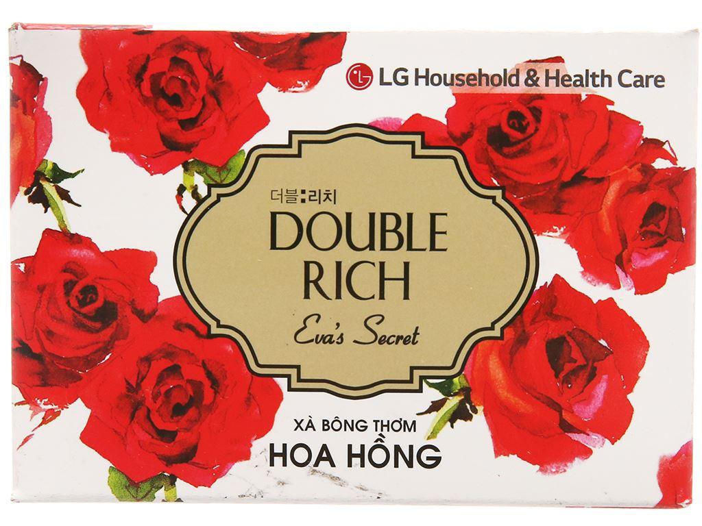 Xà bông thơm Double Rich Eva's Secret hoa hồng 90g 2
