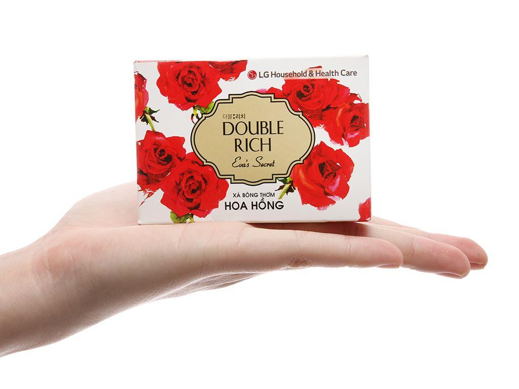 Xà bông thơm Double Rich Eva's Secret hoa hồng 90g 4