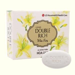 Xà bông thơm Double Rich White Putity hoa Lily 90g