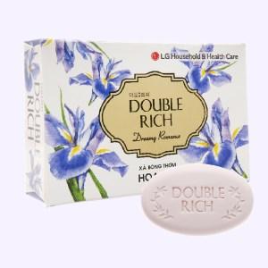 Xà bông thơm Double Rich Dreamy Romance hoa Iris 90g