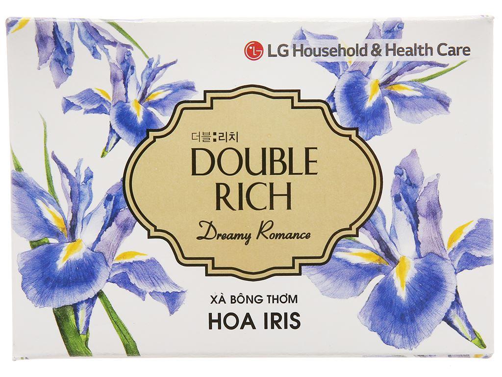 Xà bông thơm Double Rich Dreamy Romance hoa Iris 90g 2