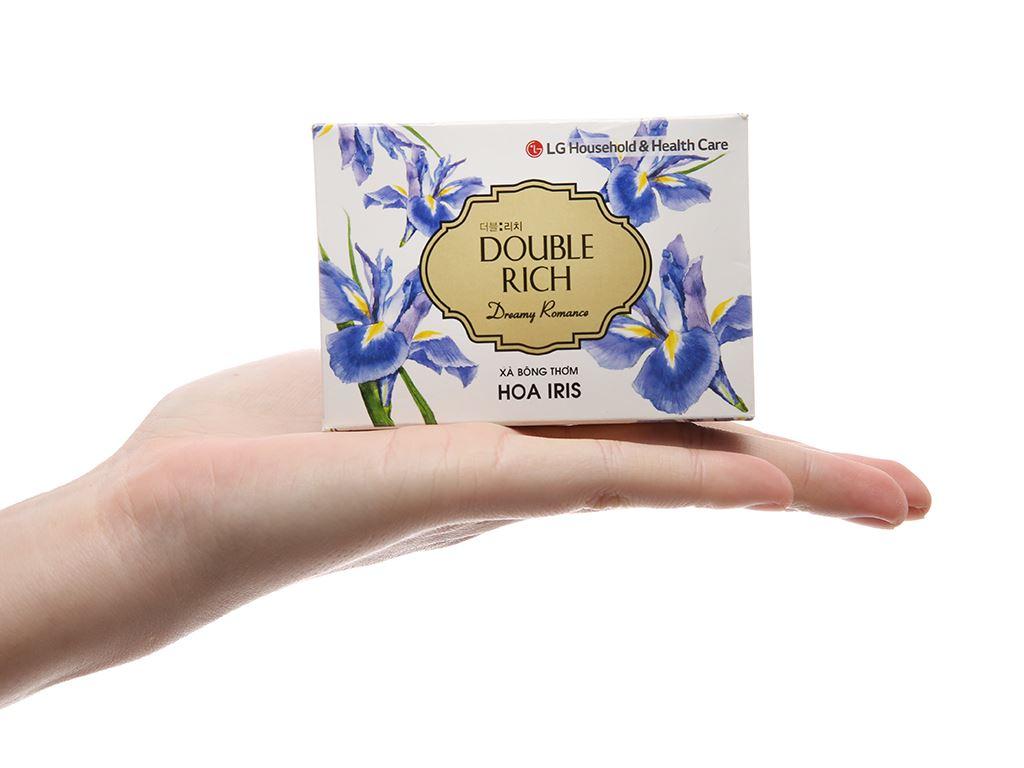 Xà bông thơm Double Rich Dreamy Romance hoa Iris 90g 4