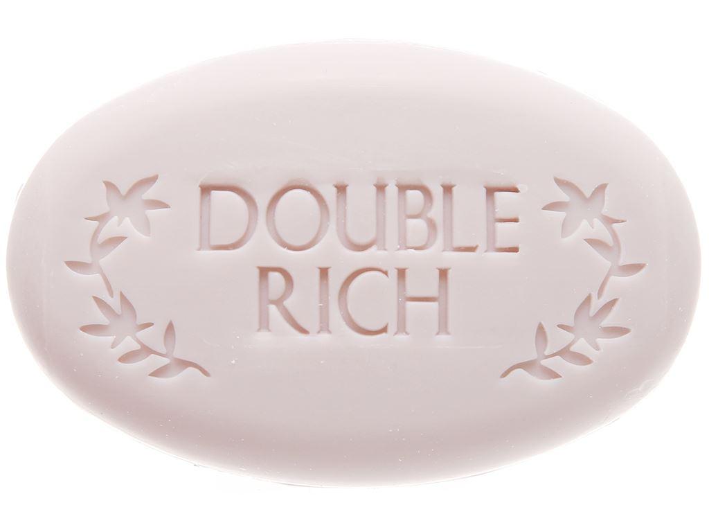 Xà bông thơm Double Rich Dreamy Romance hoa Iris 90g 5