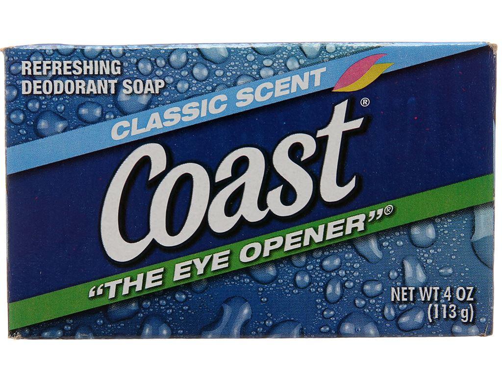 Xà bông cục Coast Classic Scent Refreshing Deodorant Soap 113g 2