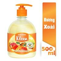 Sữa rửa tay Kleen hương xoài 500ml