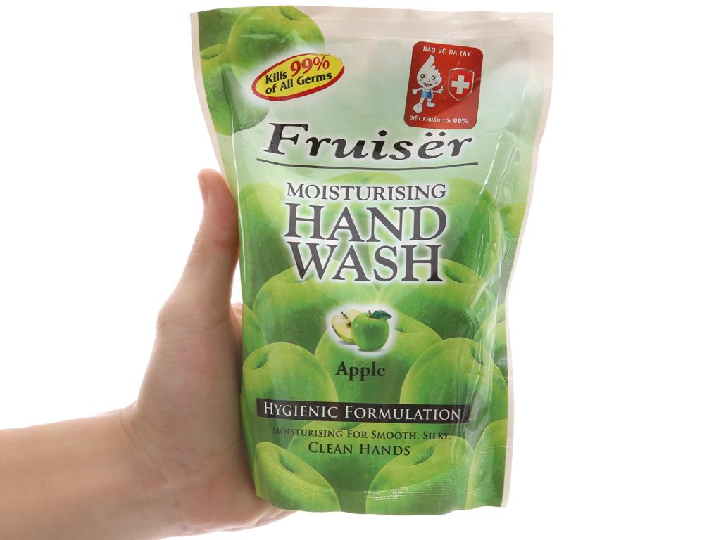 Nước rửa tay Fruiser hương táo chai 500ml 4