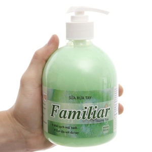 Sữa rửa tay Familiar hương táo chai 500ml