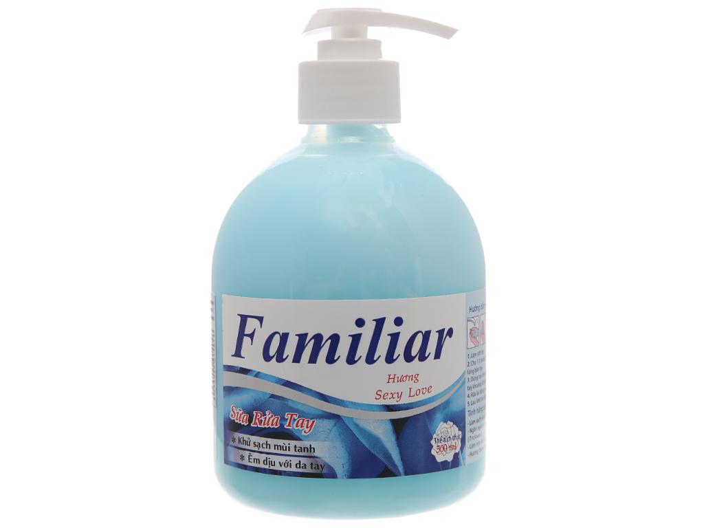 Sữa rửa tay Familiar hương Sexy Love chai 500ml 2