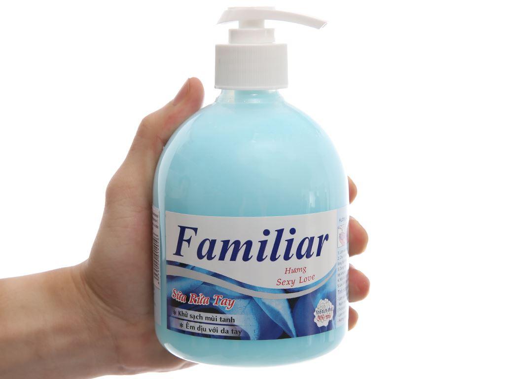 Sữa rửa tay Familiar hương Sexy Love chai 500ml 4