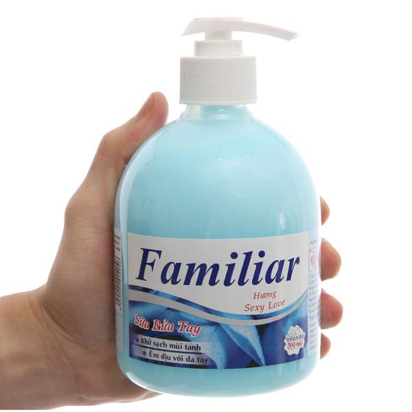 Sữa rửa tay Familiar Sexy Love hương dịu nhẹ chai 500ml