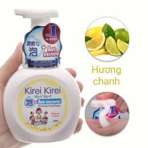 Nước rửa tay Kirei Kirei hương chanh chai 250ml