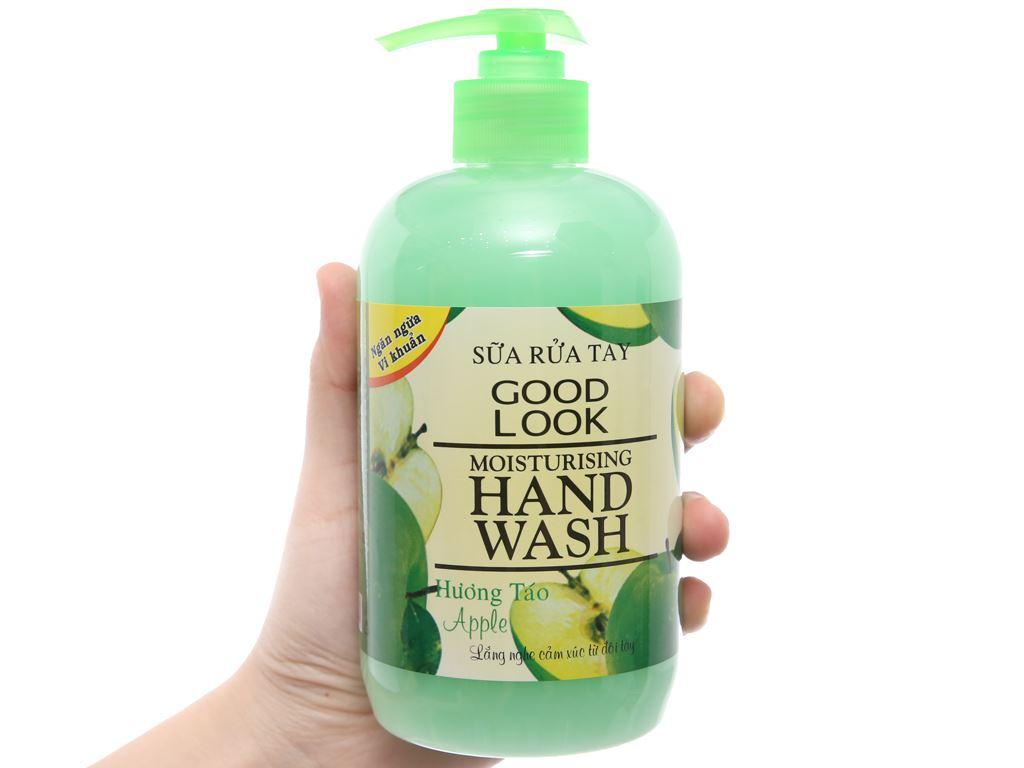 Sữa rửa tay Goodlook dưỡng da hương táo 500ml 3