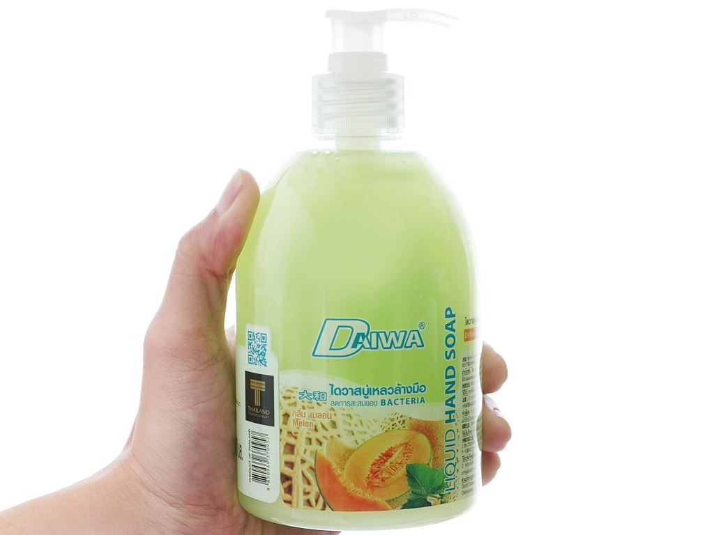 Nước rửa tay Daiwa hương dưa gang chai 500ml 4
