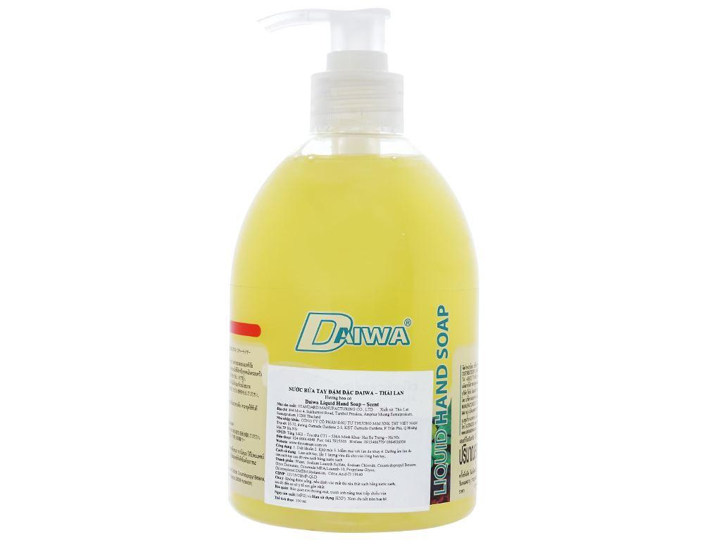 Nước rửa tay Daiwa hương hoa cỏ chai 500ml 2