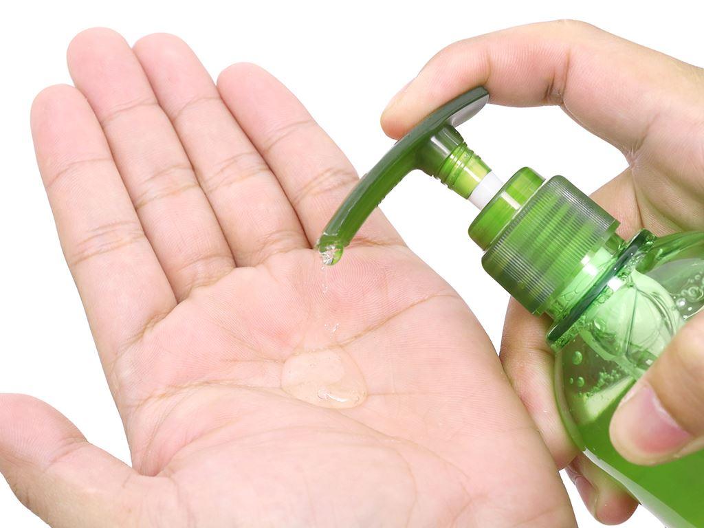 Nước rửa tay tinh chất collagen Lagena hương lô hội chai 300g 5