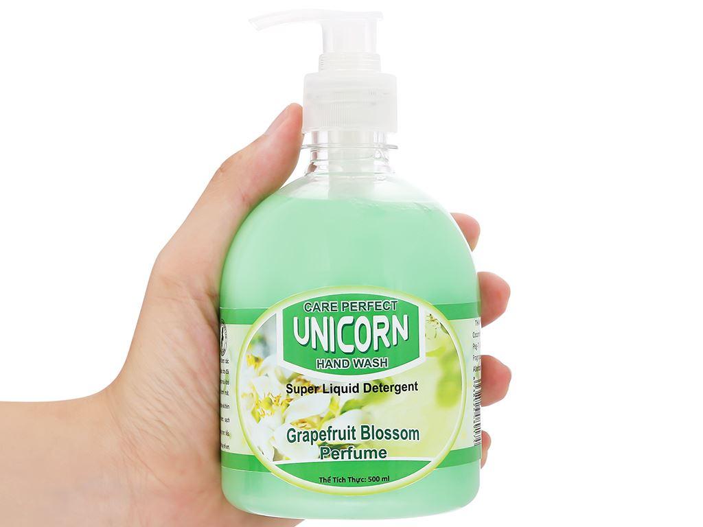 Nước rửa tay Unicorn hương bưởi chai 500ml 5