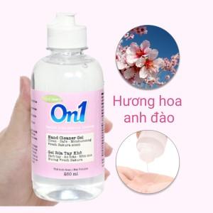 Gel rửa tay khô On1 hương Fresh Sakura chai 250ml