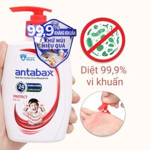 Nước rửa tay kháng khuẩn Antabax bảo vệ chai 250ml