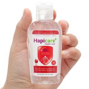 Gel rửa tay khô kháng khuẩn Hapicare hương táo chai 60ml