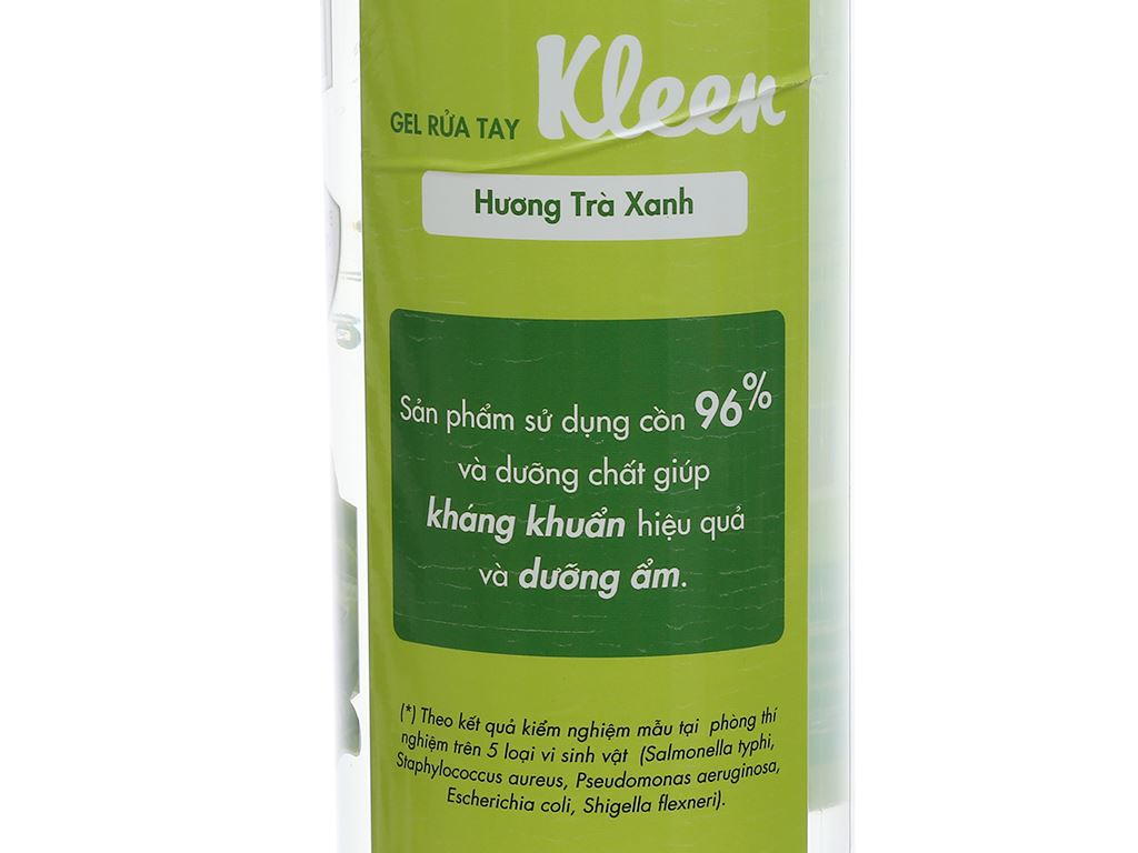 Gel rửa tay khô Kleen hương trà xanh chai 630ml 4