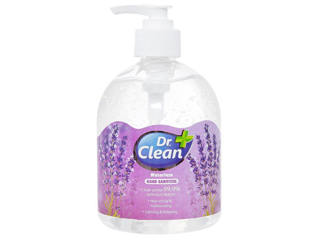 Gel rửa tay khô Dr. Clean hương lavender chai 500ml 1