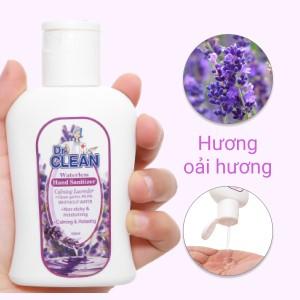 Gel rửa tay khô Dr. Clean hương lavender chai 100ml