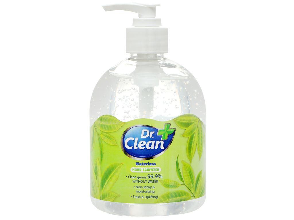 Gel rửa tay khô Dr. Clean hương trà xanh chai 500ml 1