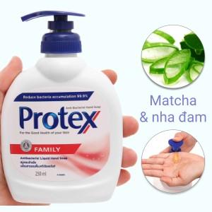 Nước rửa tay Protex Propolis gia đình 250ml